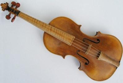 Bild einer baroken Geige